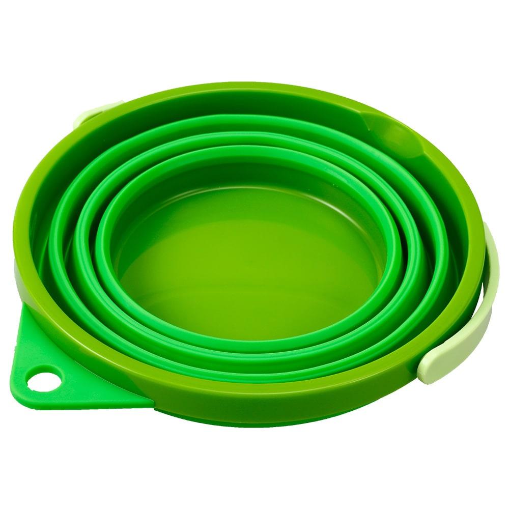 ソフトバケツ8型 グリーン