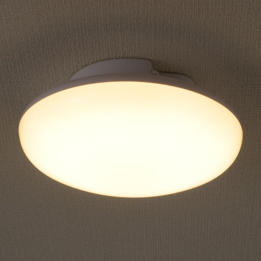 オーム電機 LEDミニシーリング 40W型 電球色 LE-Y5LK-W