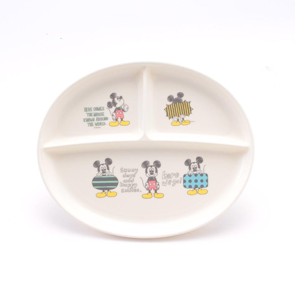 食洗機対応ランチ皿 ミッキーマウス スケッチXP-17