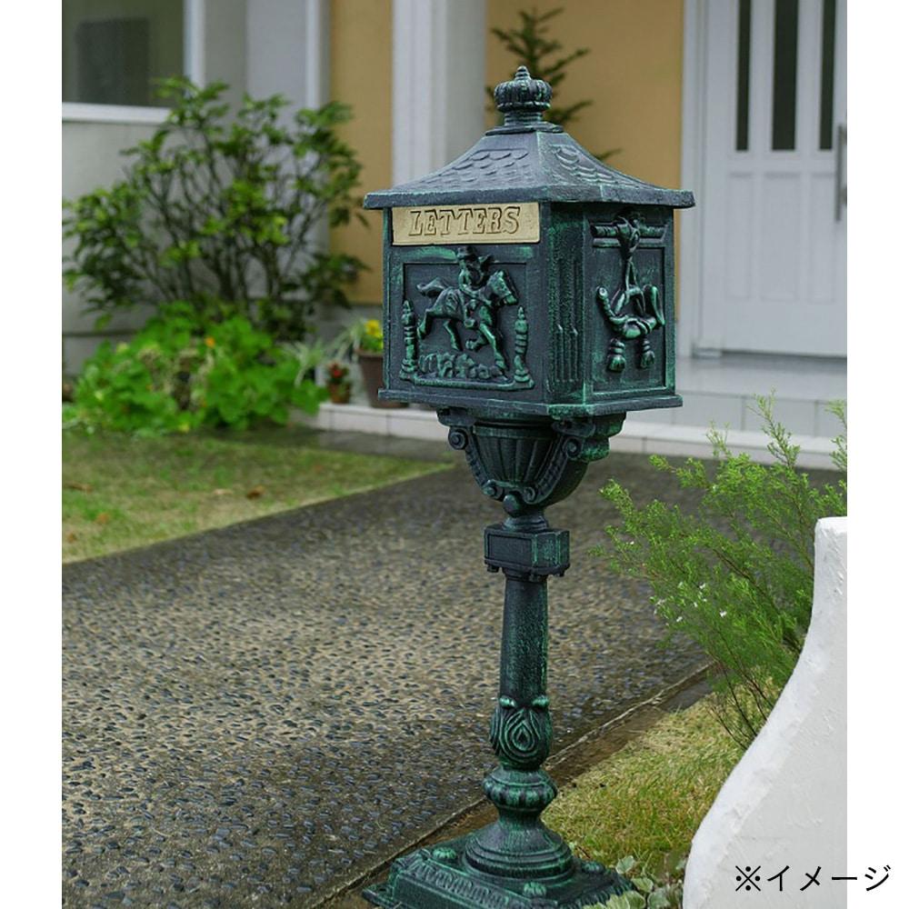 【SU】青銅色ビクトリアメイルボックス