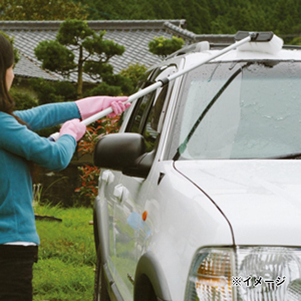 タカギ 伸縮型パチット洗車ブラシ G271