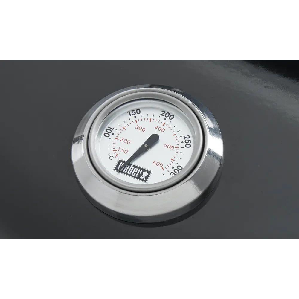 ウェーバー コンパクトケトル チャコールグリル57cm / 温度計付 黒 1321308