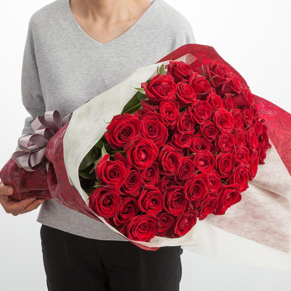 お祝い用バラ50本束【別送品】【要注文コメント】