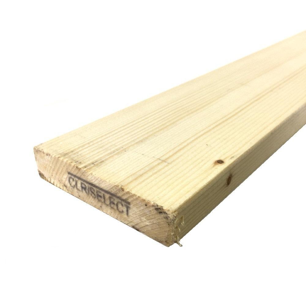 【SU】【ケース販売】ホワイトウッド1X4 6フィート H クリアセレクト[2200224130073×10]【別送品】