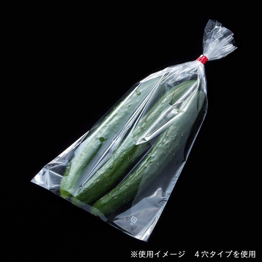 【ケース販売】防曇規格袋 20ミクロン 9号 4穴 100枚入り×100袋[4936695656290×100]
