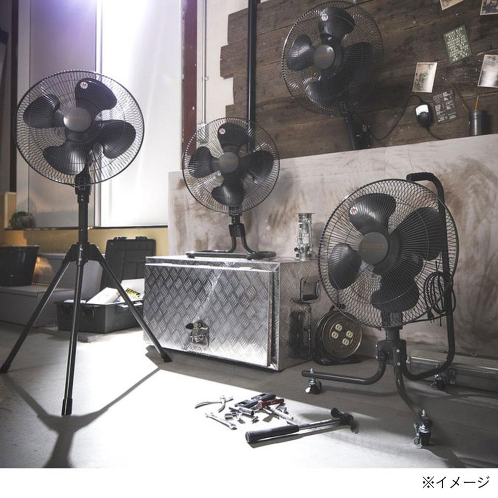 KUROCKER'S 45cm壁掛け扇 HZW-45(BK)