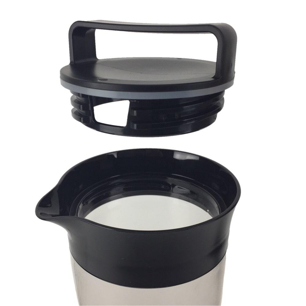 クールフリー スリム冷水ポット 1.1L ブラック HB-4326