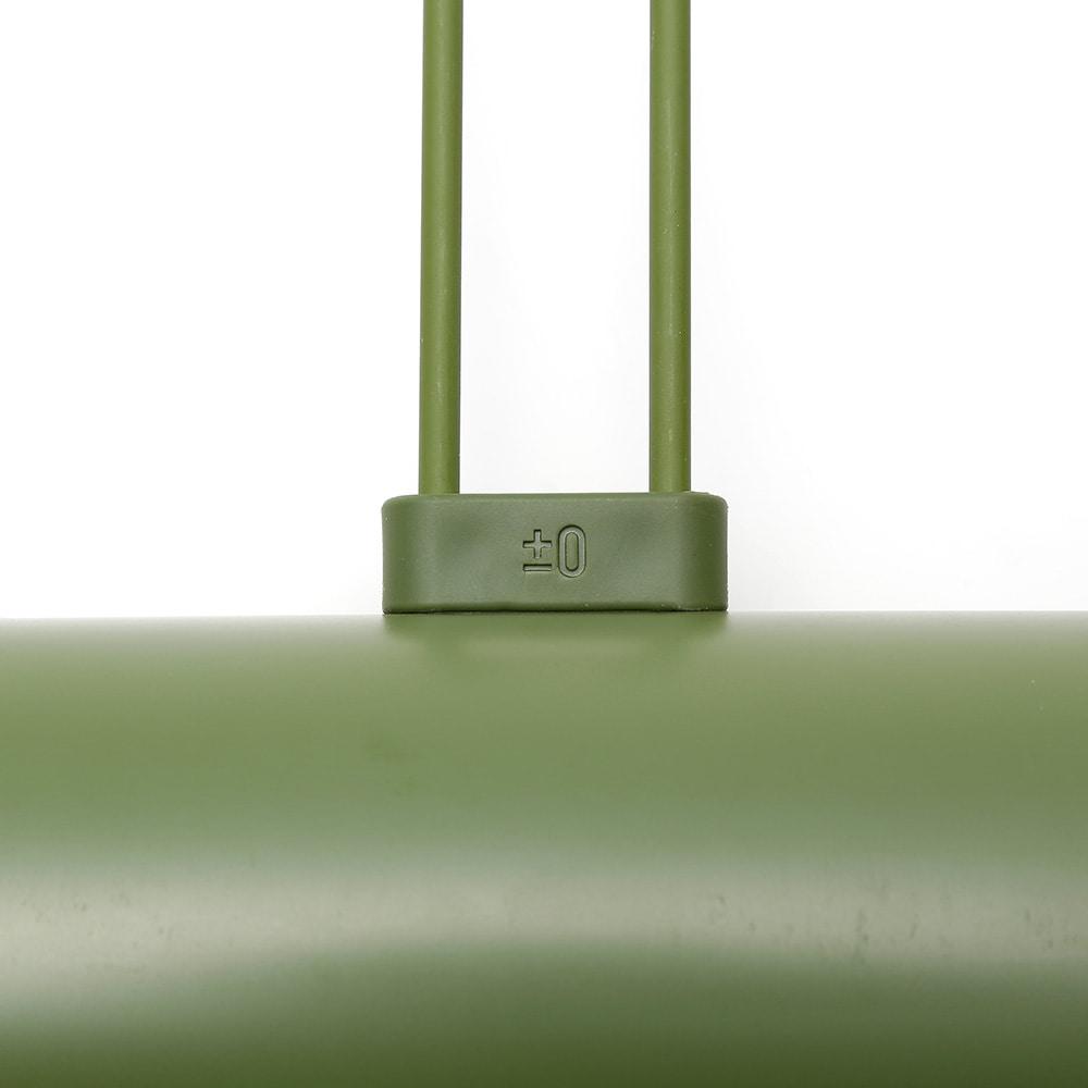 ±0 カーペットクリーナー OCC1920 グリーン