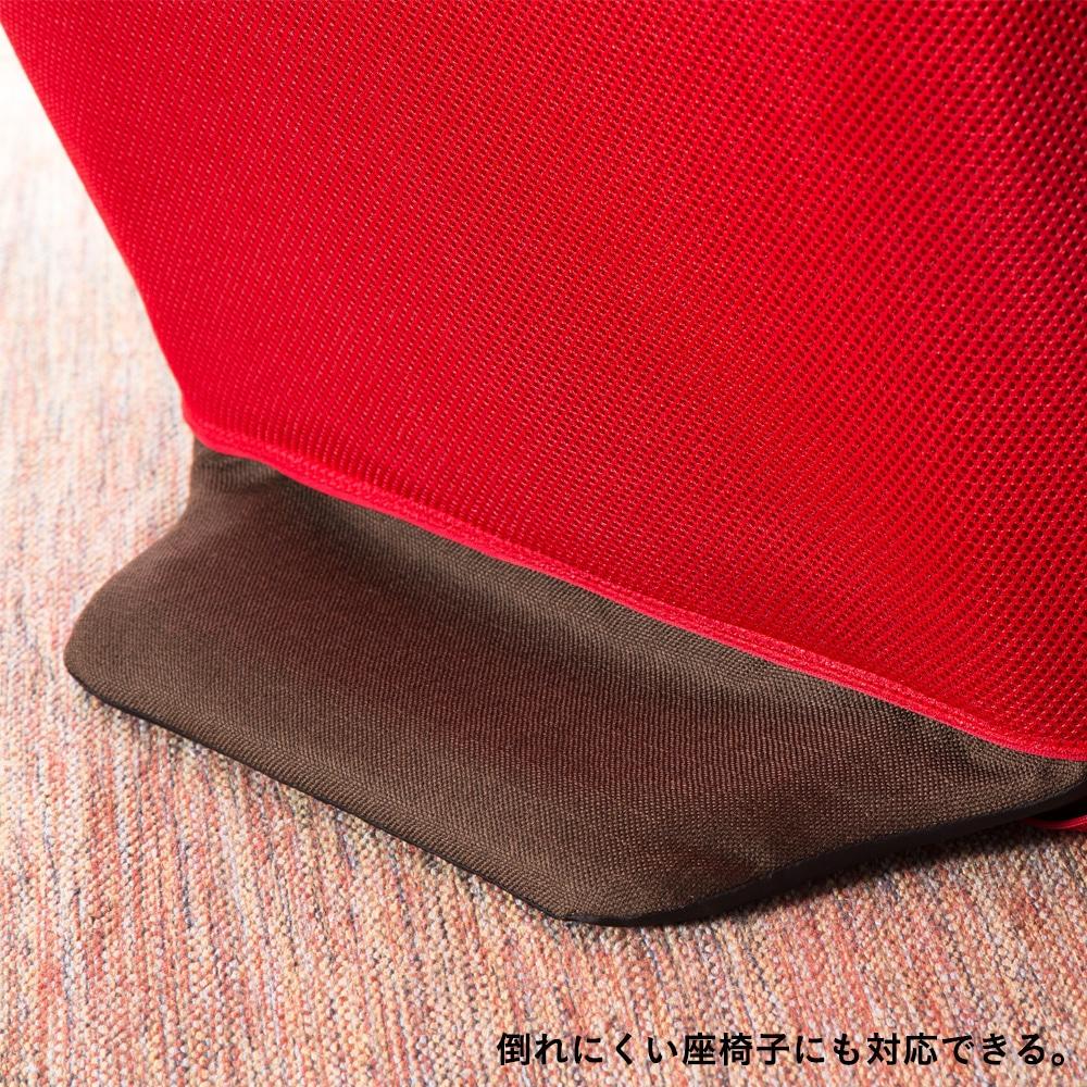 メッシュ座椅子カバー レッド
