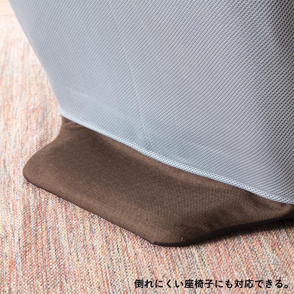 メッシュ座椅子カバー グレー