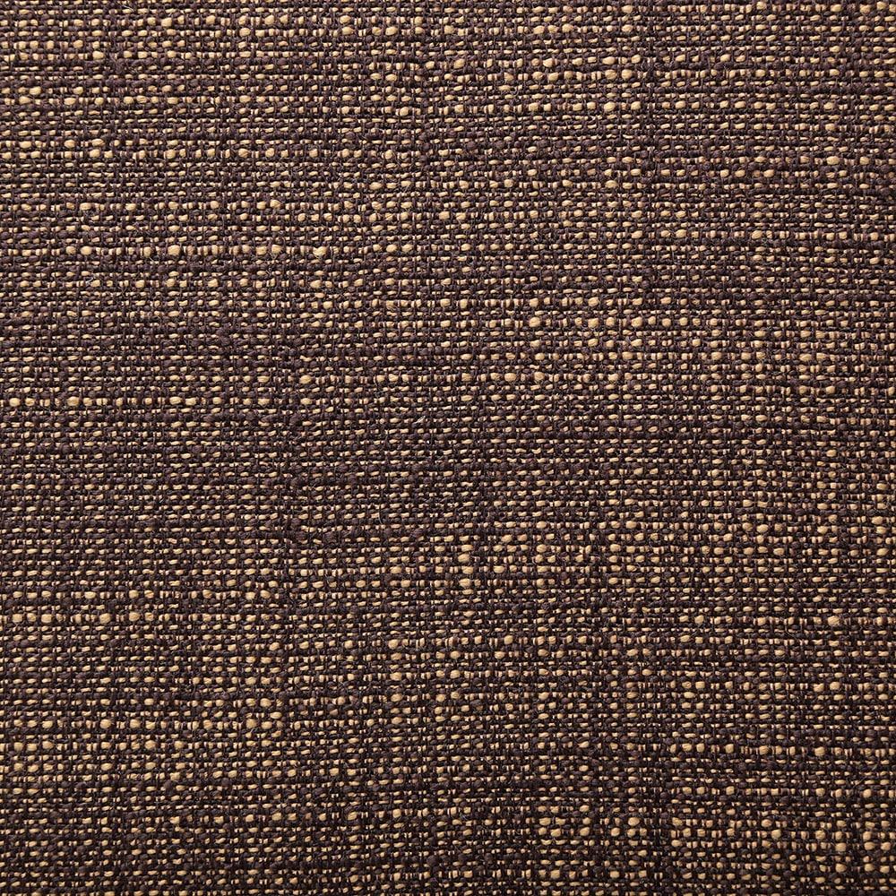 二つ折りフロアクッション ブラウン 40×80×10
