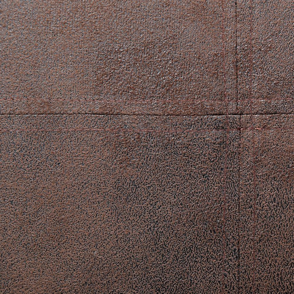 へたりに強いフロアクッション ブラウン 40×40×5