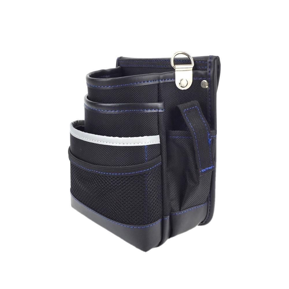 反射ライン腰袋2段 工具さし付 NDKB03