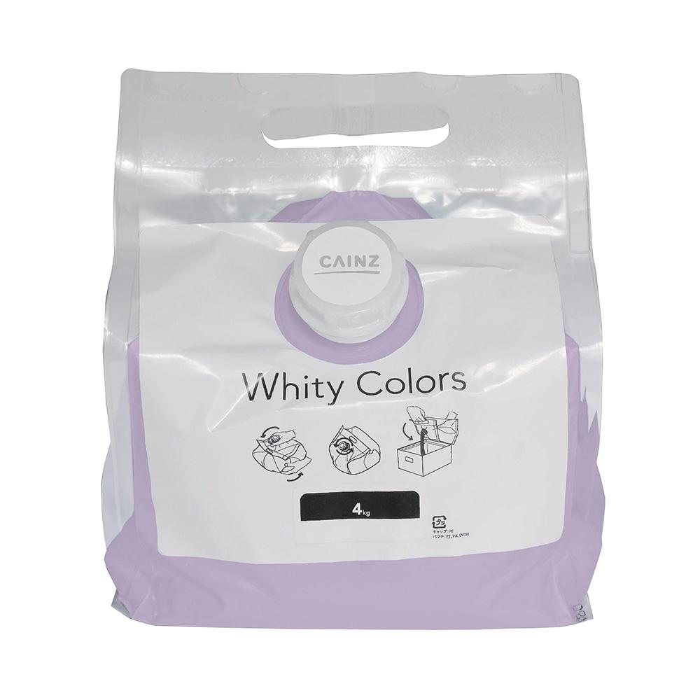 【Web限定】CAINZ 室内用塗料 ホワイティカラーズ 4kg うす藤【別送品】