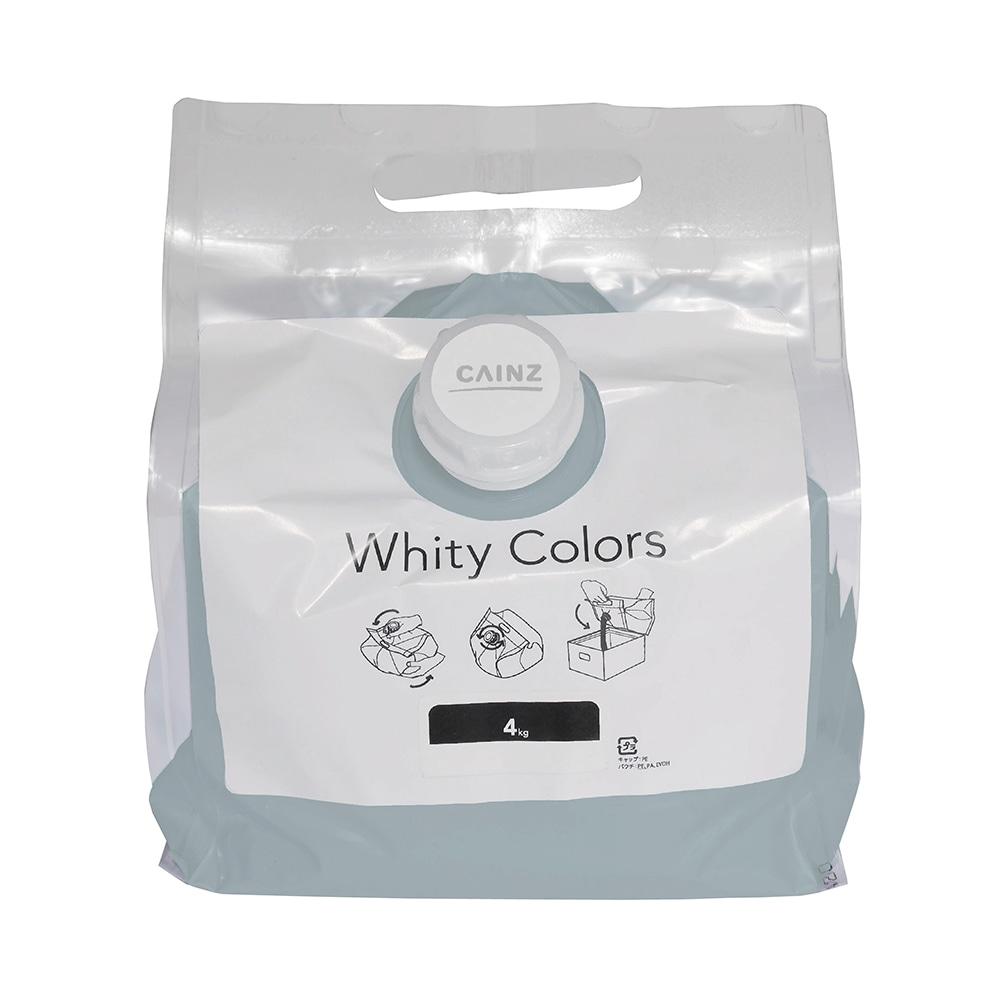 【Web限定】CAINZ 室内用塗料 ホワイティカラーズ 4kg ベビーブルー【別送品】