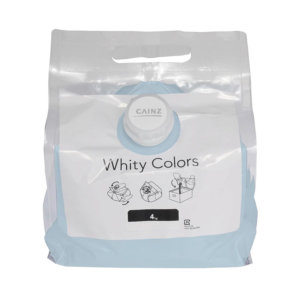 【Web限定】CAINZ 室内用塗料 ホワイティカラーズ 4kg アクア【別送品】