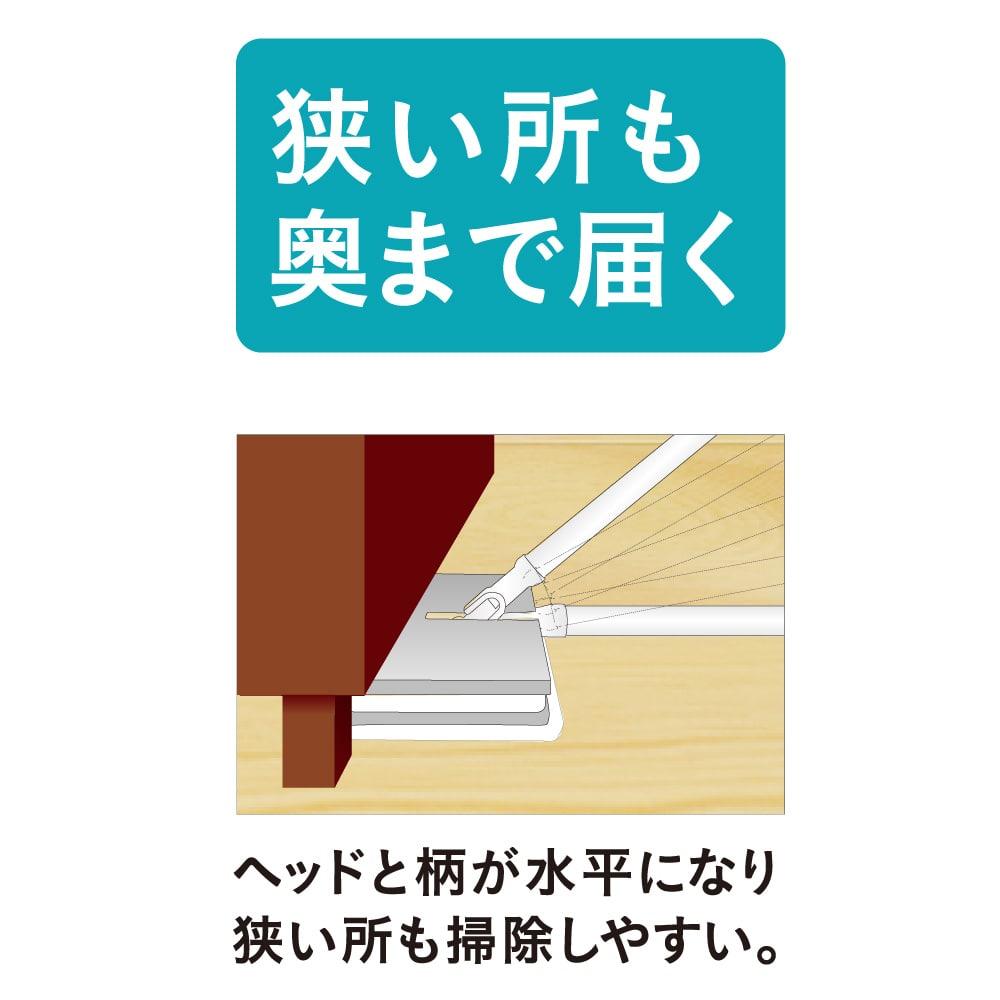 【数量限定】シートをムダ無く使えるフローリングワイパーワイド