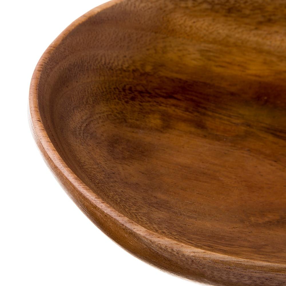 【trv】アカシア オーバルボウル 18×25.5×5cm