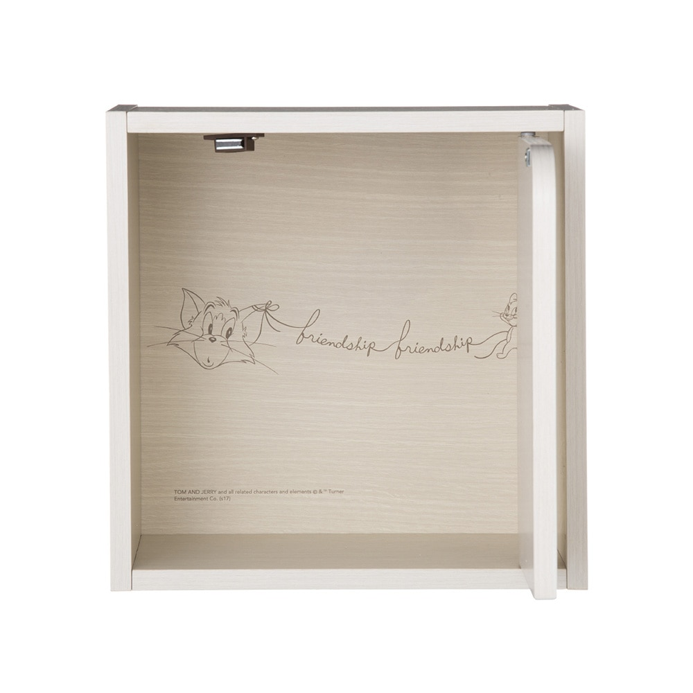 WB ドア付シングルボックス ホワイト