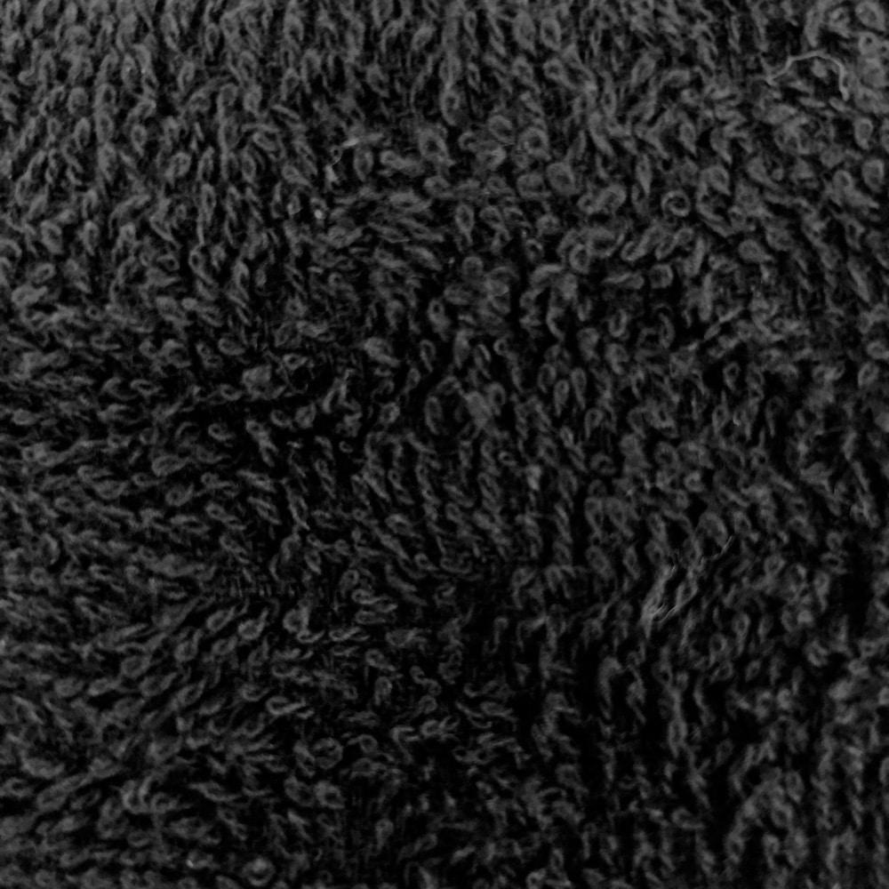 頭に巻けるロングタオル 34×100 ブラック