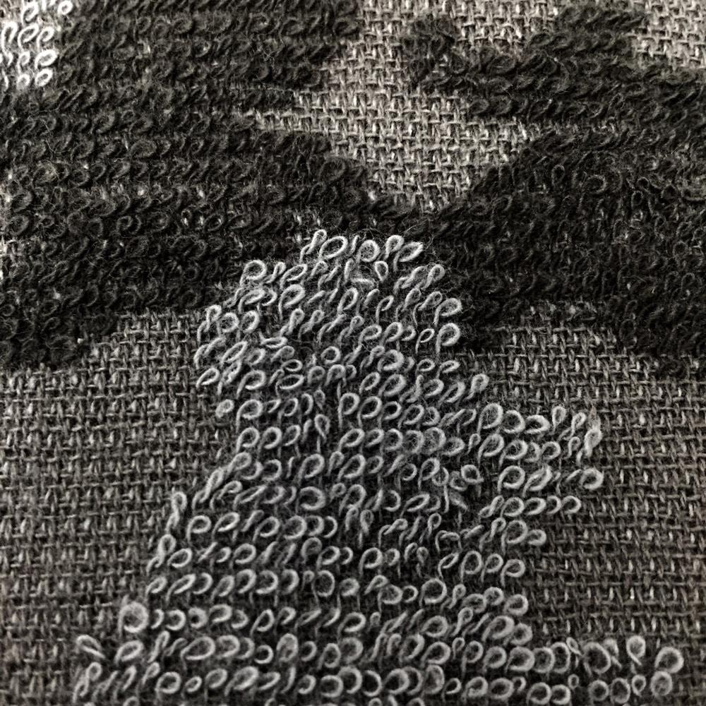 頭に巻けるロングタオル34×100 カモフラGY
