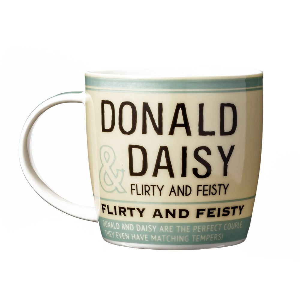 マグカップ ドナルド&デイジー