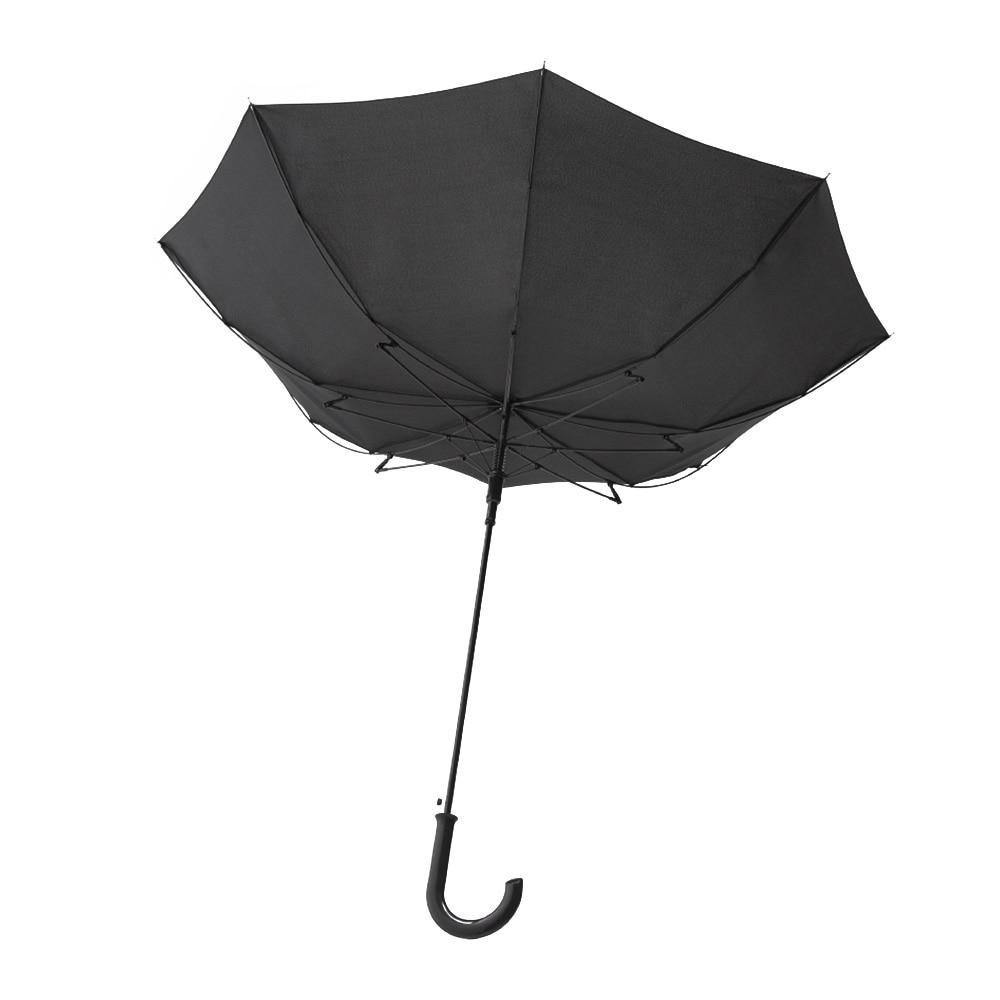 風に強い撥水ジャンプ傘 65cm ブラック