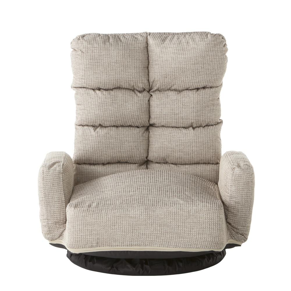 B15 レバー式Vカット肘付き回転座椅子