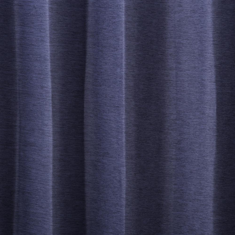 遮光防炎カーテンメホール ネイビー 100×185 2枚組