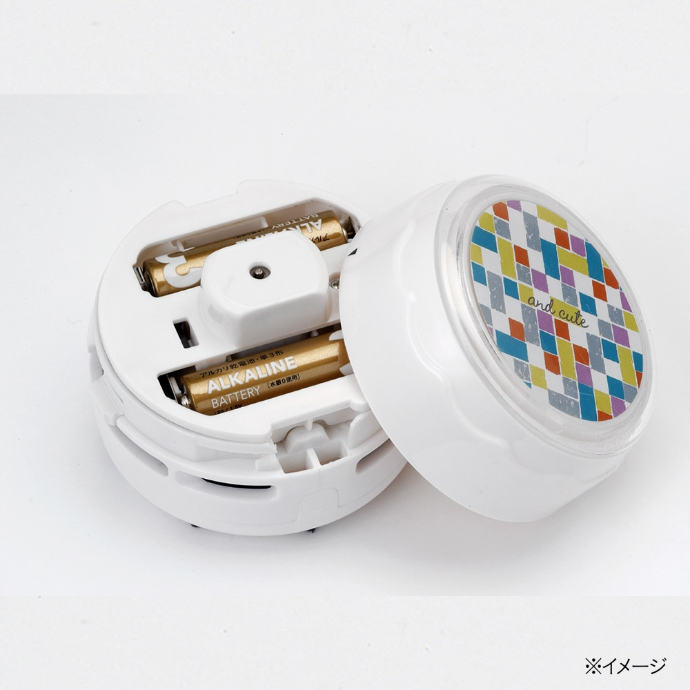 andキュート 電池式卓上クリーナー