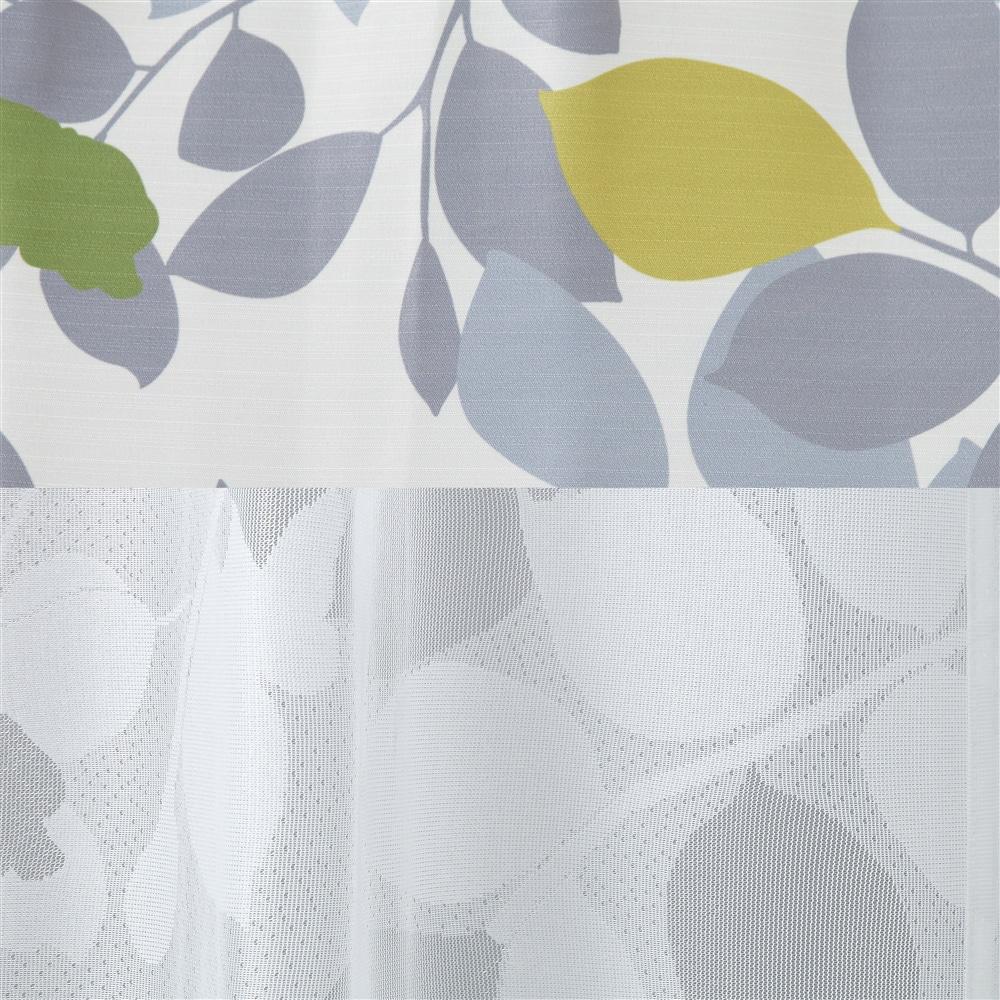 4枚組セットカーテン パストリーフ 100×135 アイボリー