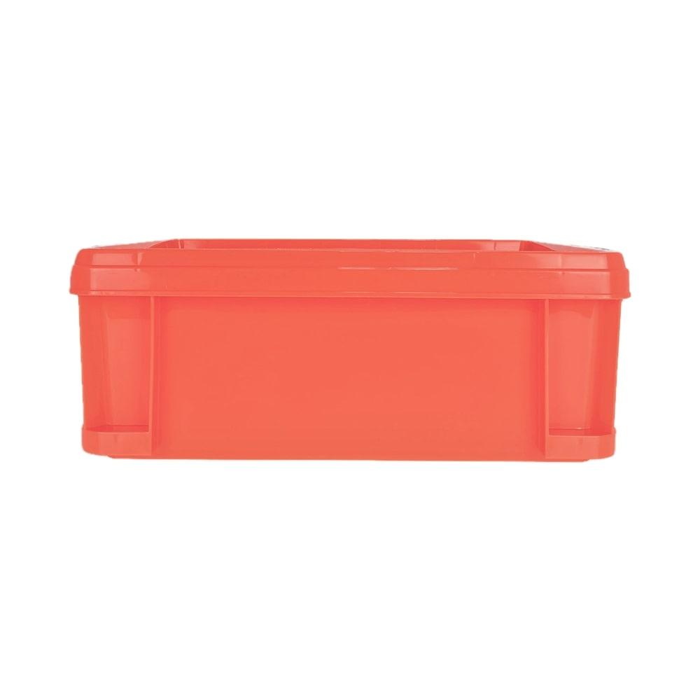 KUROCKER'S 丈夫で軽いふた付きコンテナ #22 オレンジ