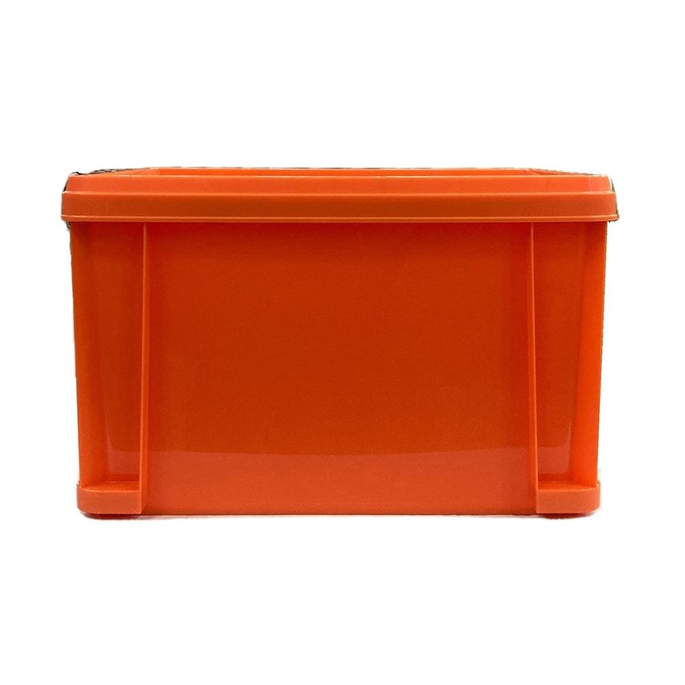 KUROCKER'S 丈夫で軽いふた付きコンテナ#45 オレンジ