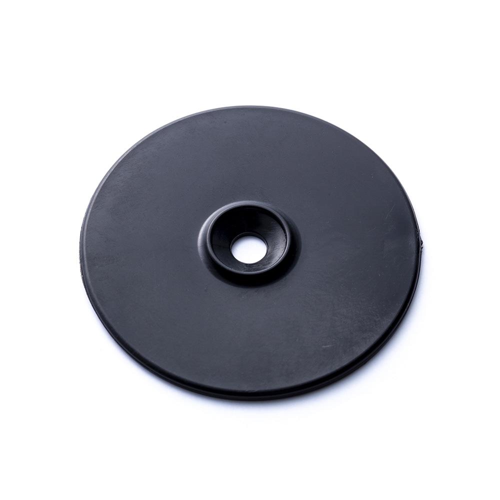 押え釘 200mm 押さえ1穴セット ブラック 10個入り