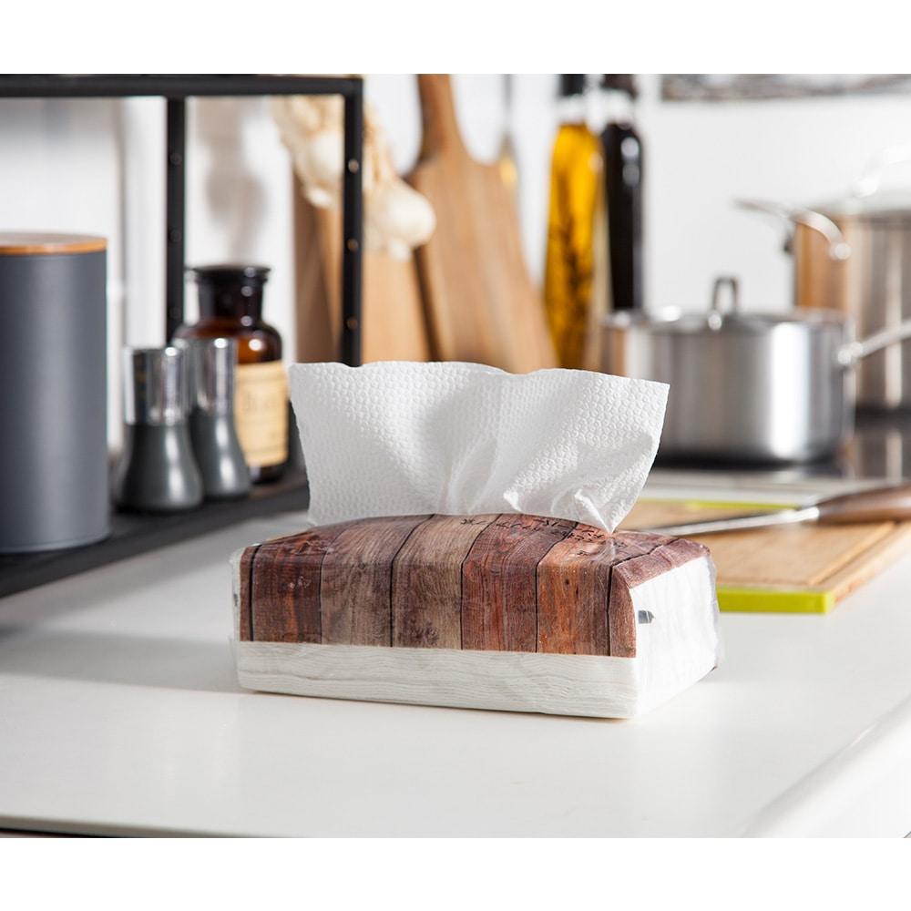 片手で取れるキッチンペーパー 100枚×6個パック
