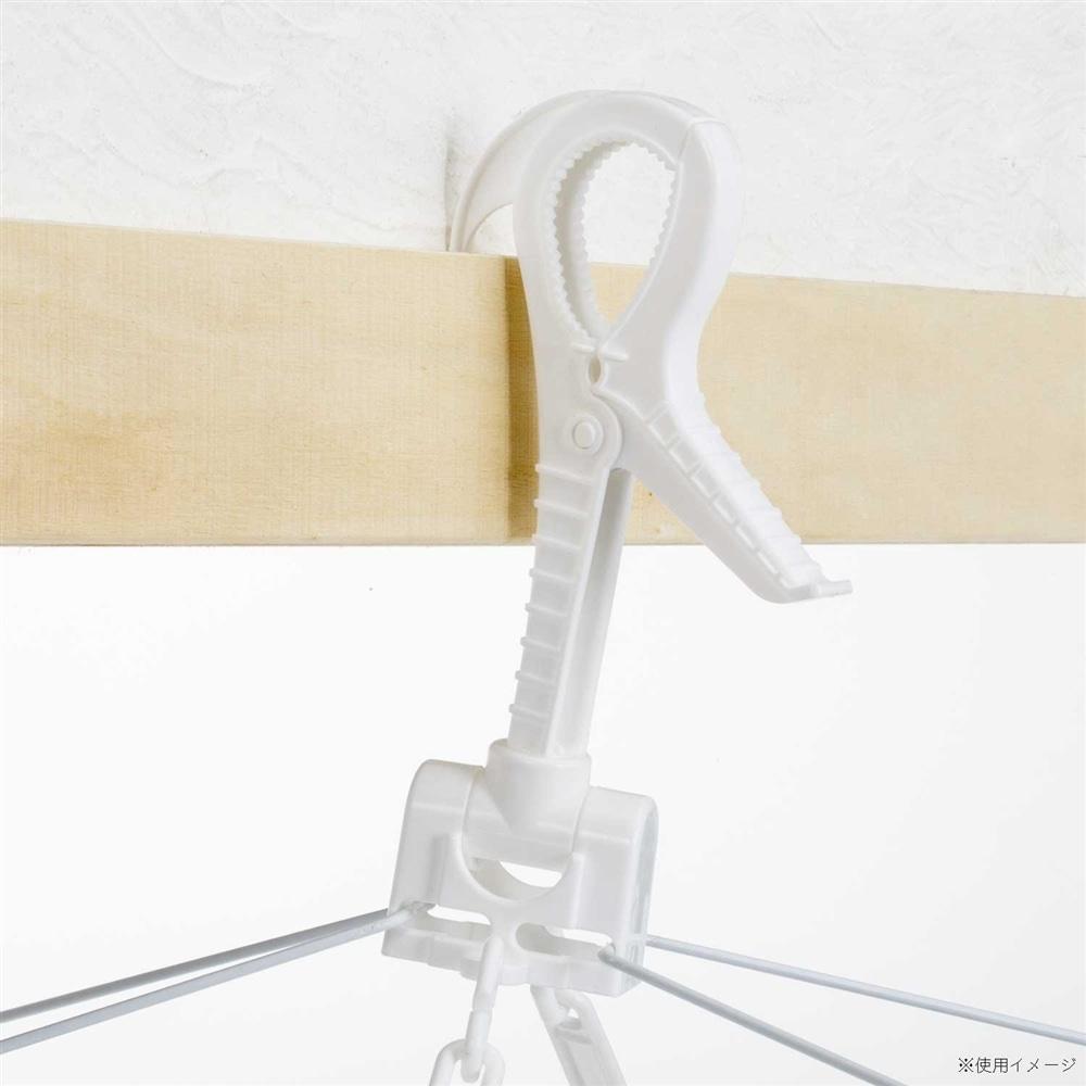 マンション対応 低竿用 角ハンガー 60ピンチ