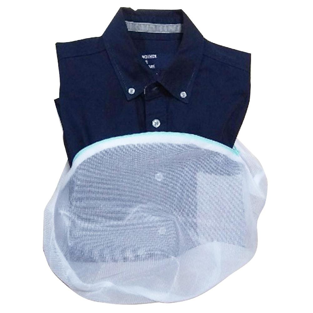 濃い色シャツ用洗濯ネット 丸型