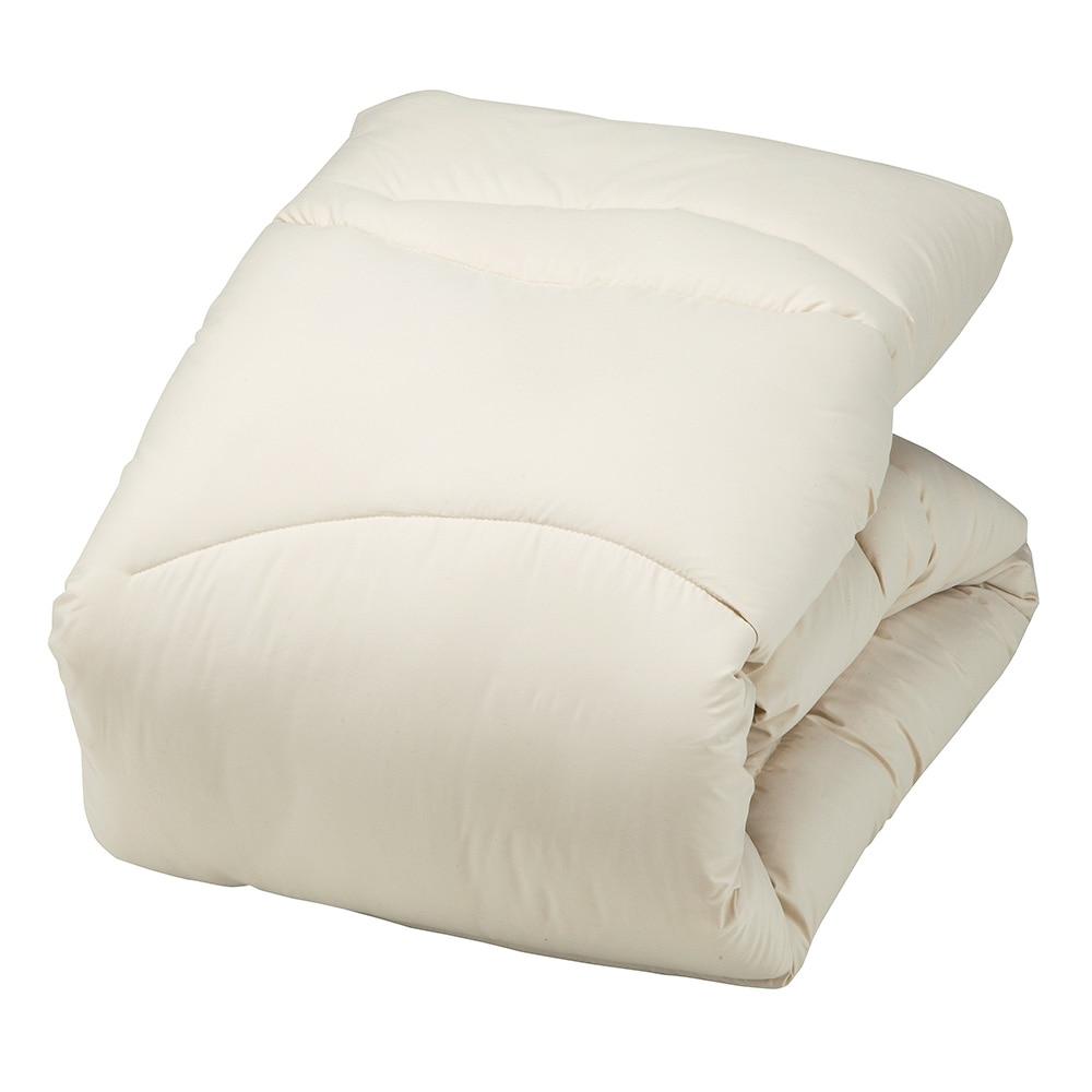 ムレにくい羊毛混寝具3点セット