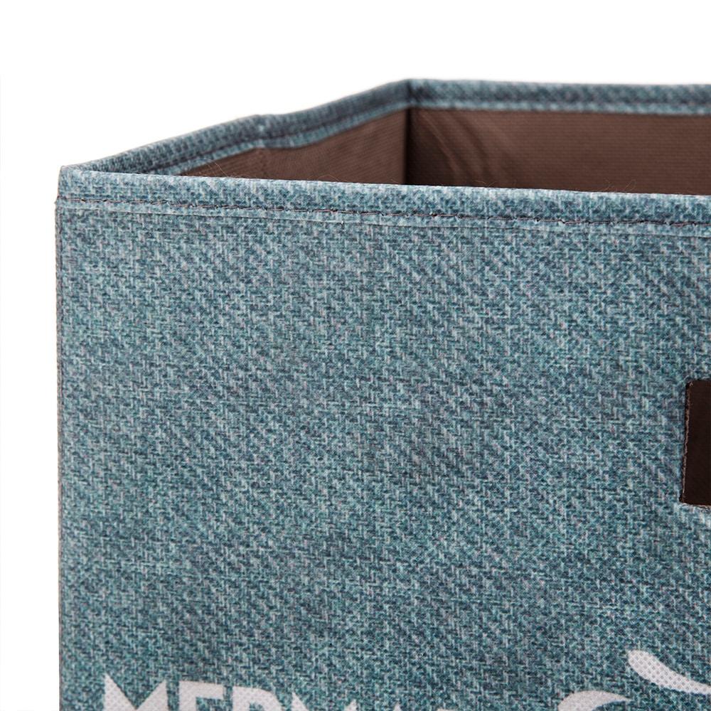 持ち運びしやすい折りたたみ収納ボックス マーメイド