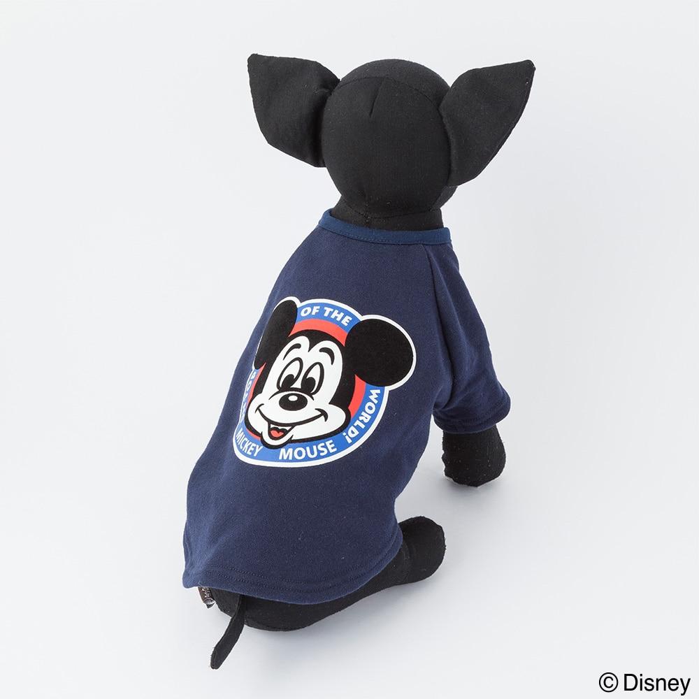 【数量限定・2019春夏】シャツ ミッキーマウス ネイビー M