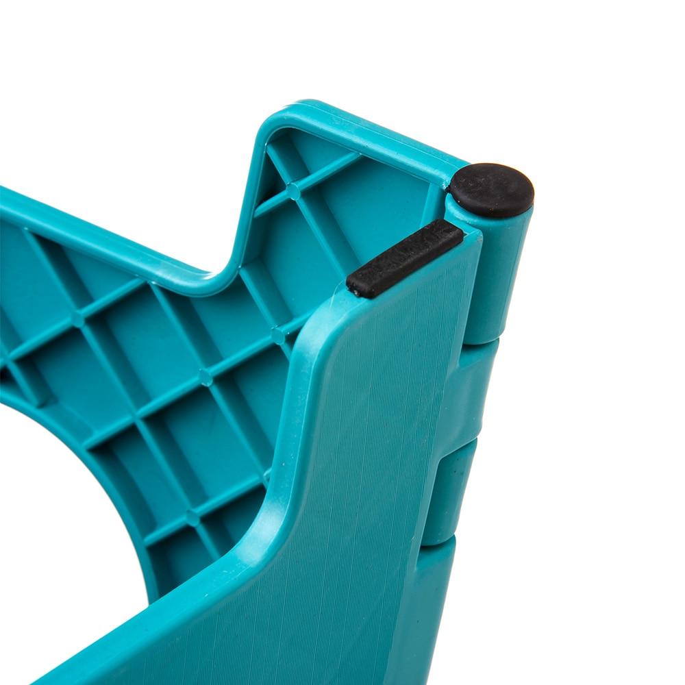 持ち運びしやすい折りたたみ踏み台 ブルー