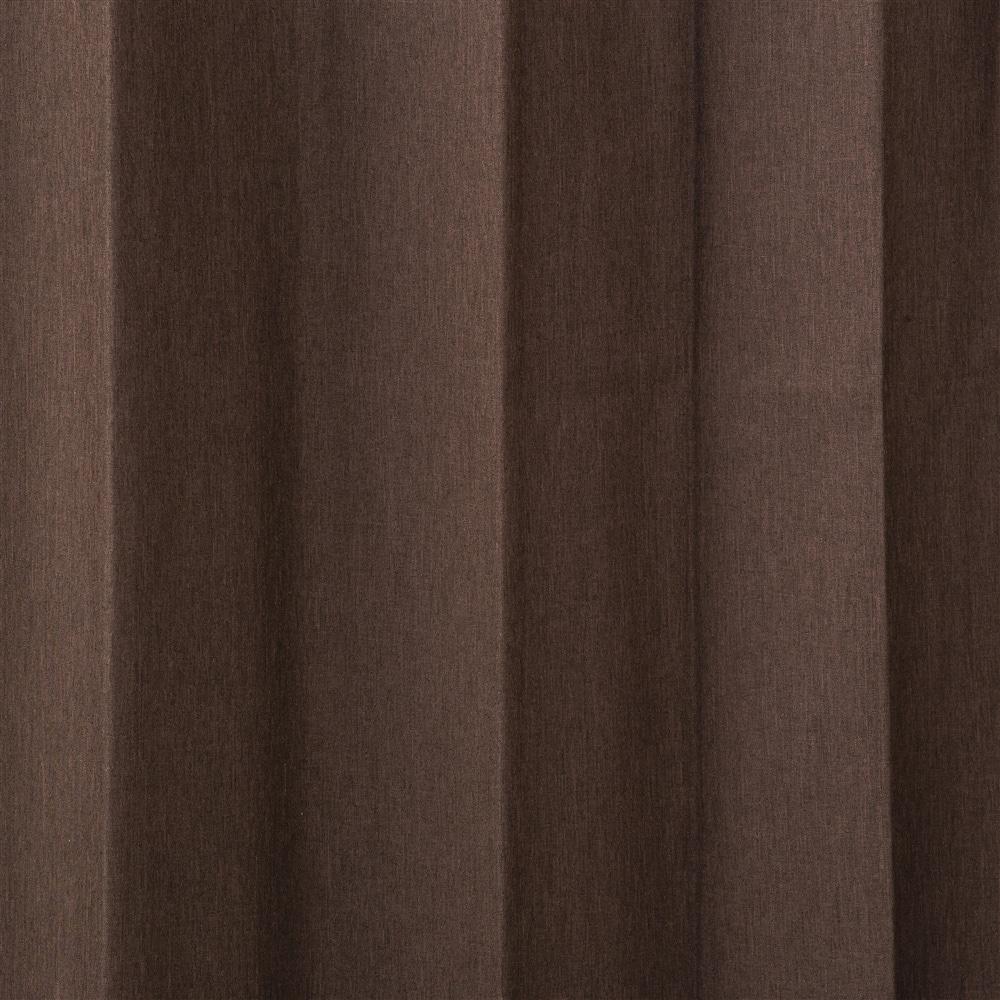 遮音遮熱遮光カーテン ニューコスモ ダークブラウン 100×178 2枚組