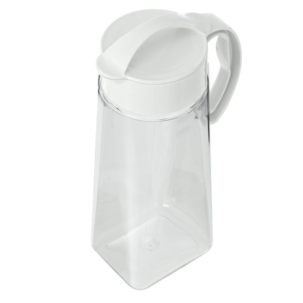 縦にも横にも置ける冷水筒 2.1L ホワイト