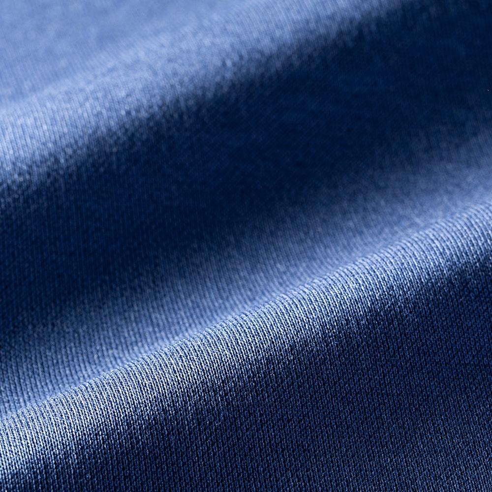 【2019秋冬】KUROCKER'S 中厚手 吸湿発熱保温Tシャツ 長袖 丸首 ネイビー L