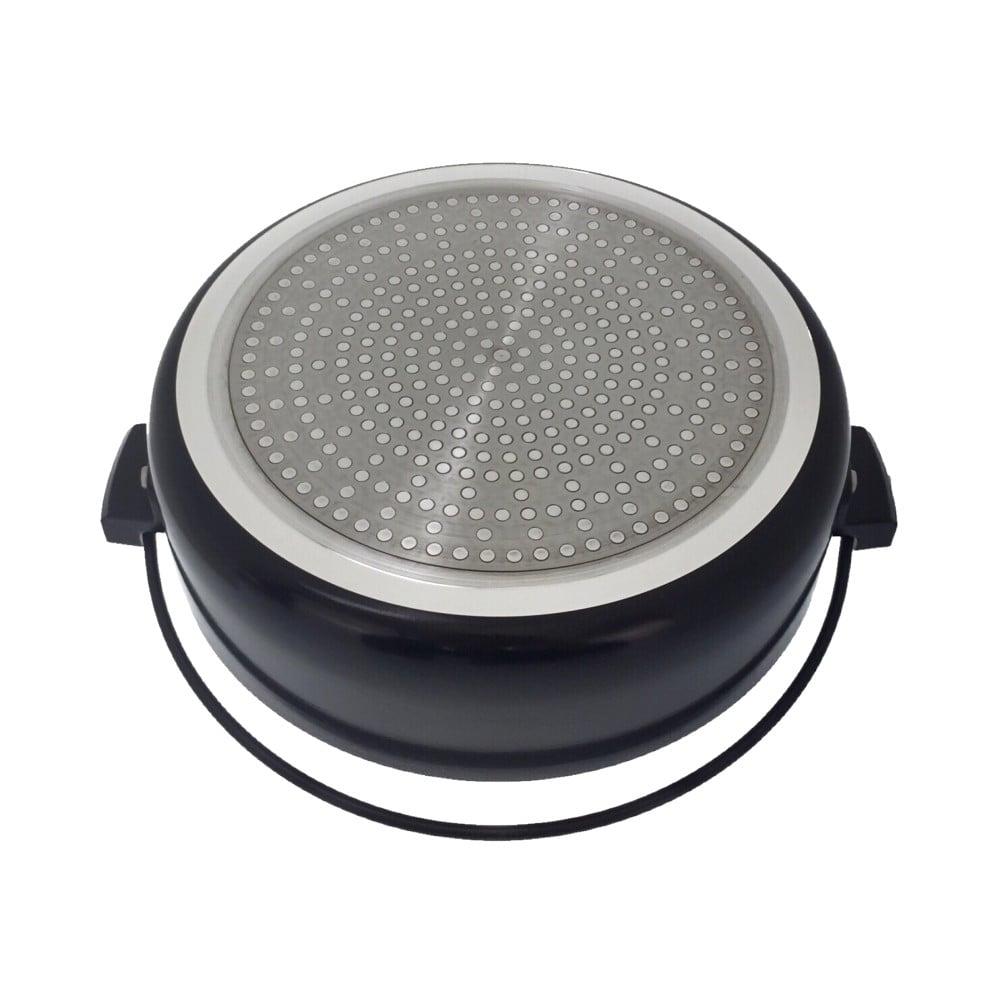 IH対応 ガラス蓋付 すき焼鍋 20cm