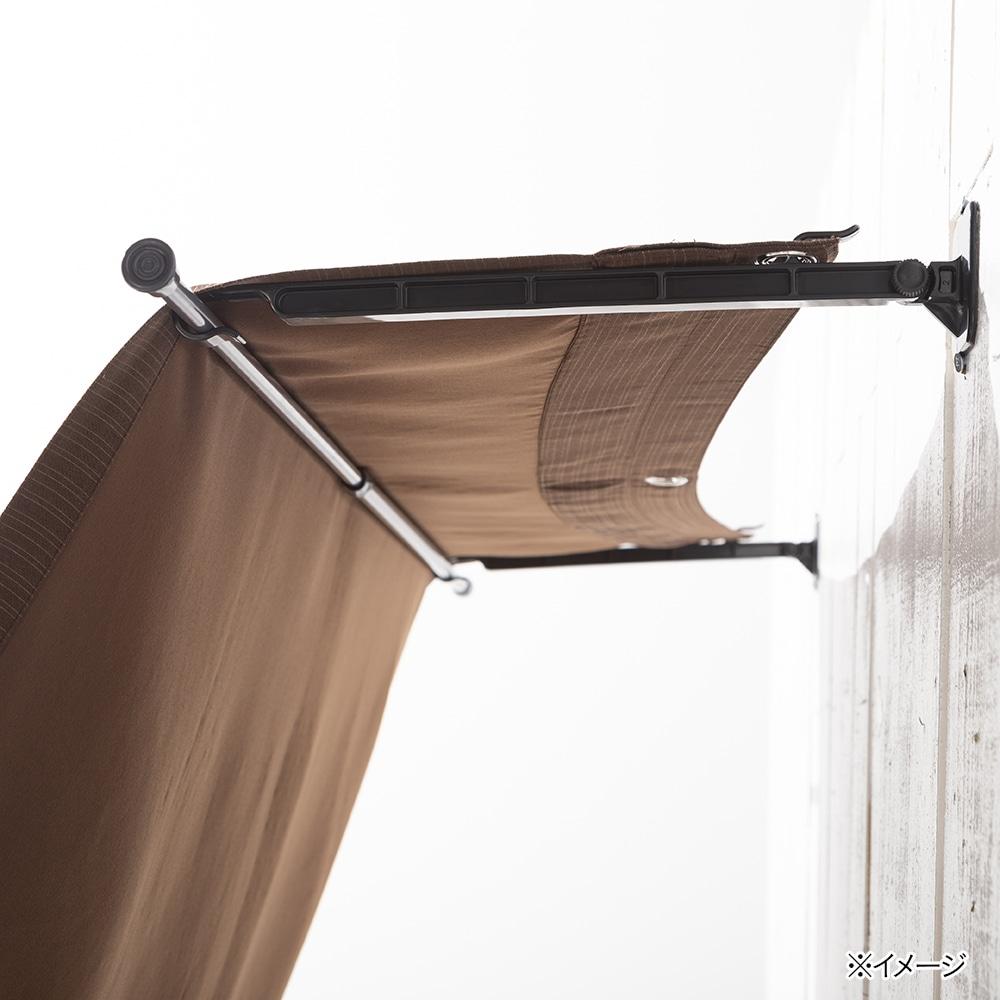 日よけ タープと窓の間に空間をつくるフック 2個入