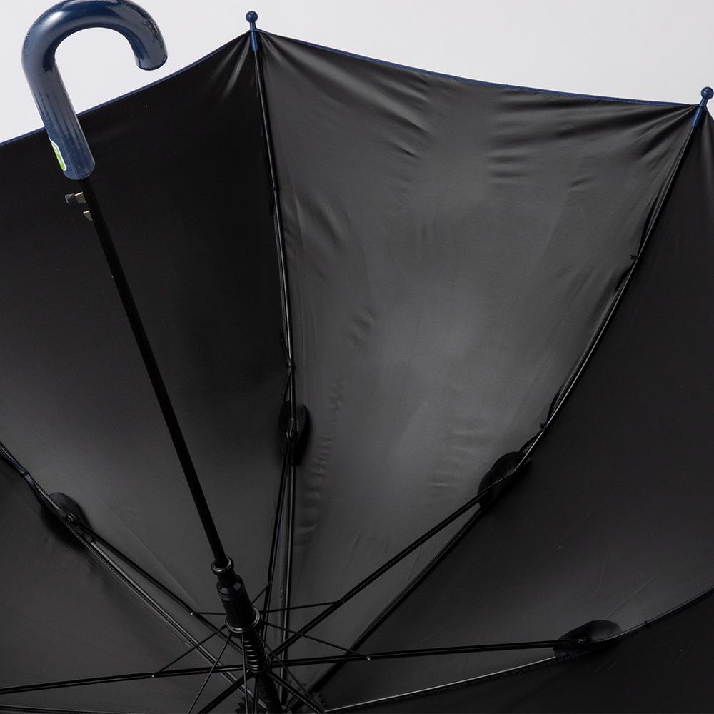 【数量限定】子供傘 UVカット率99.9%の晴雨兼用傘55cm ネイビー