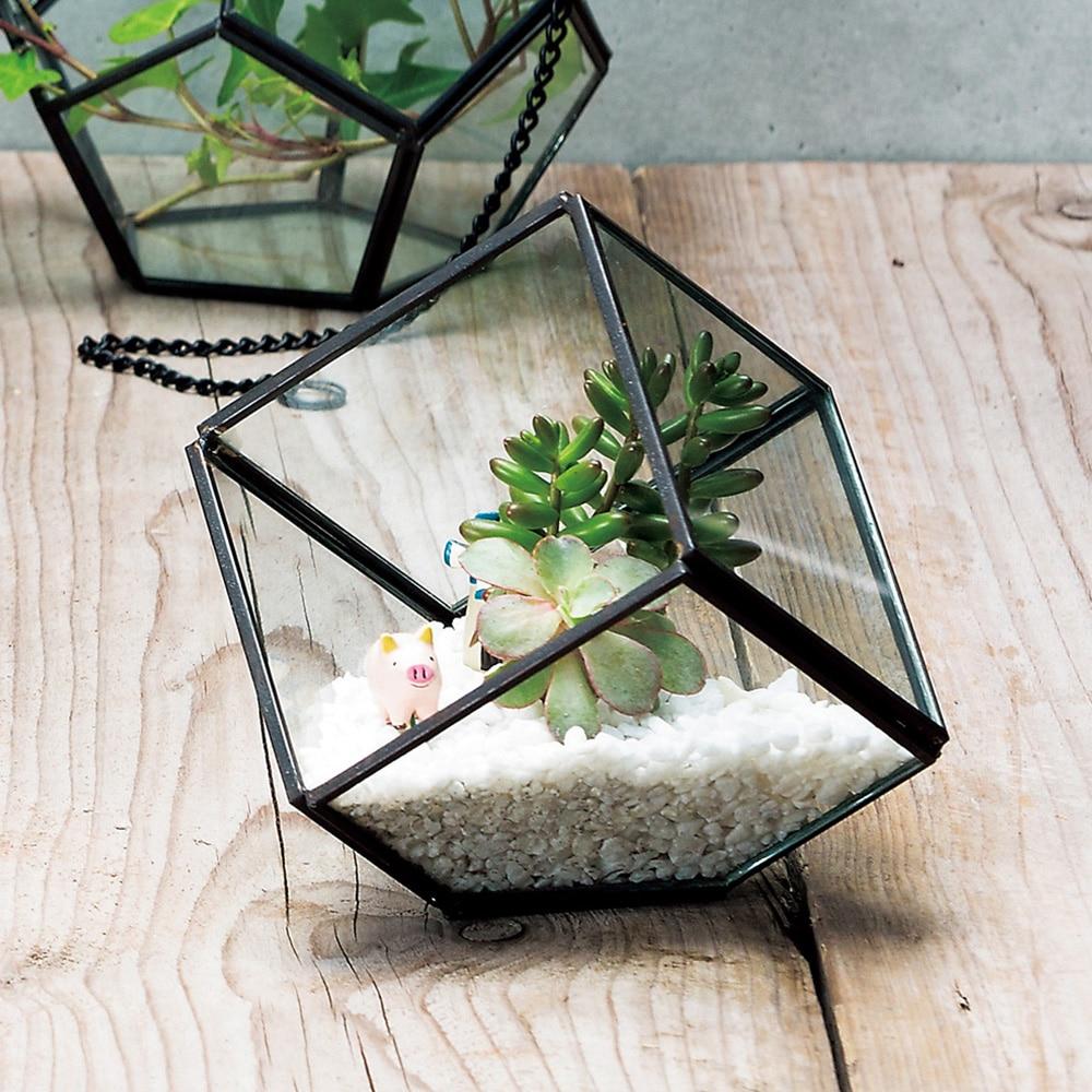 ジオメティックガラス キューブS