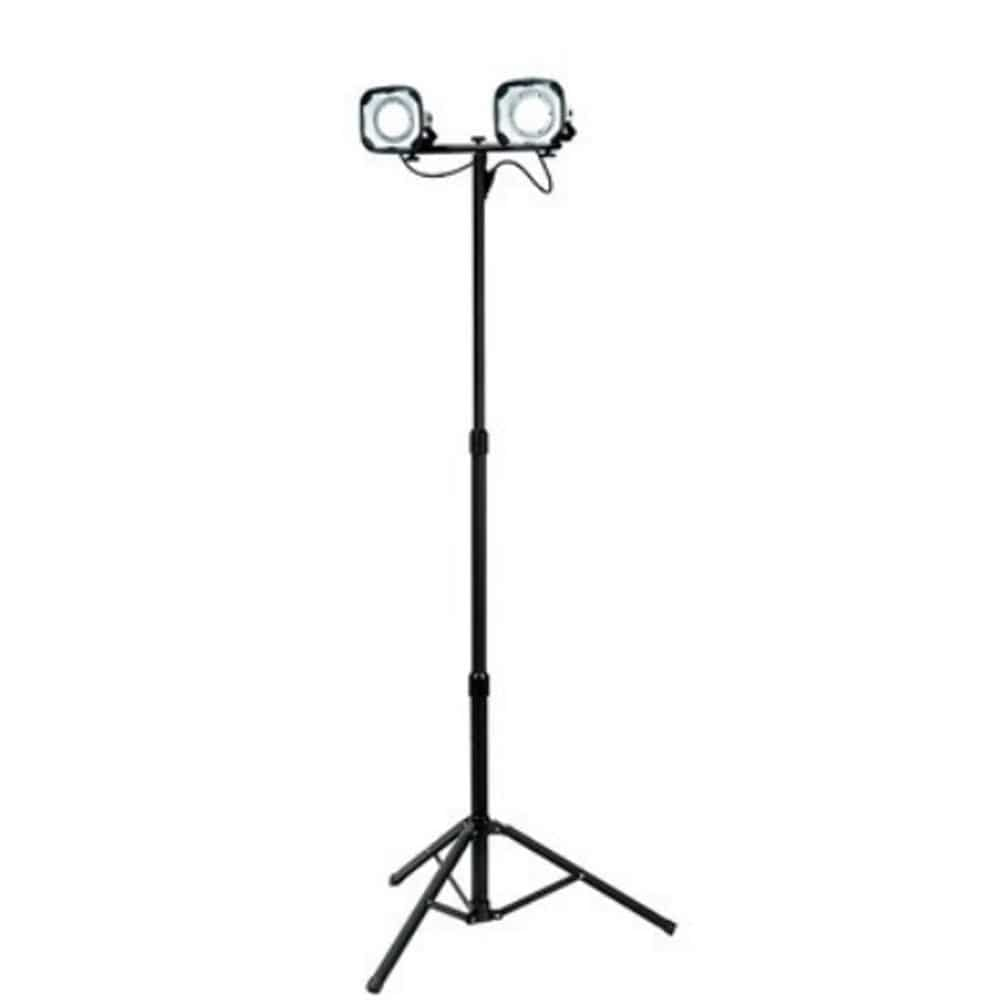 LED防水型Wライト15W スタンド式 2灯