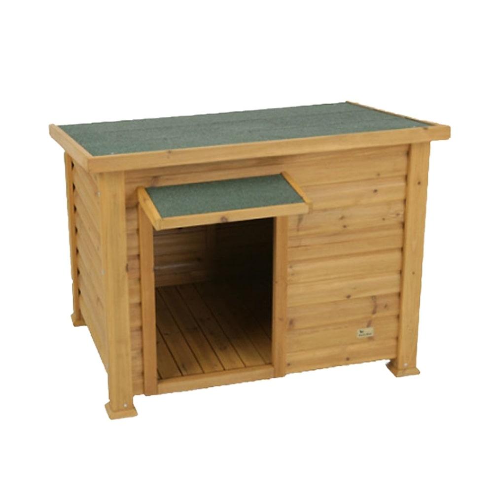 犬小屋(木製 平屋根) デラックス